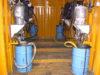 Container per pompe GRACO 68:1 4 postazi