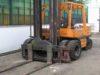 Sollevatore OM 50 Diesel con ponte girevole